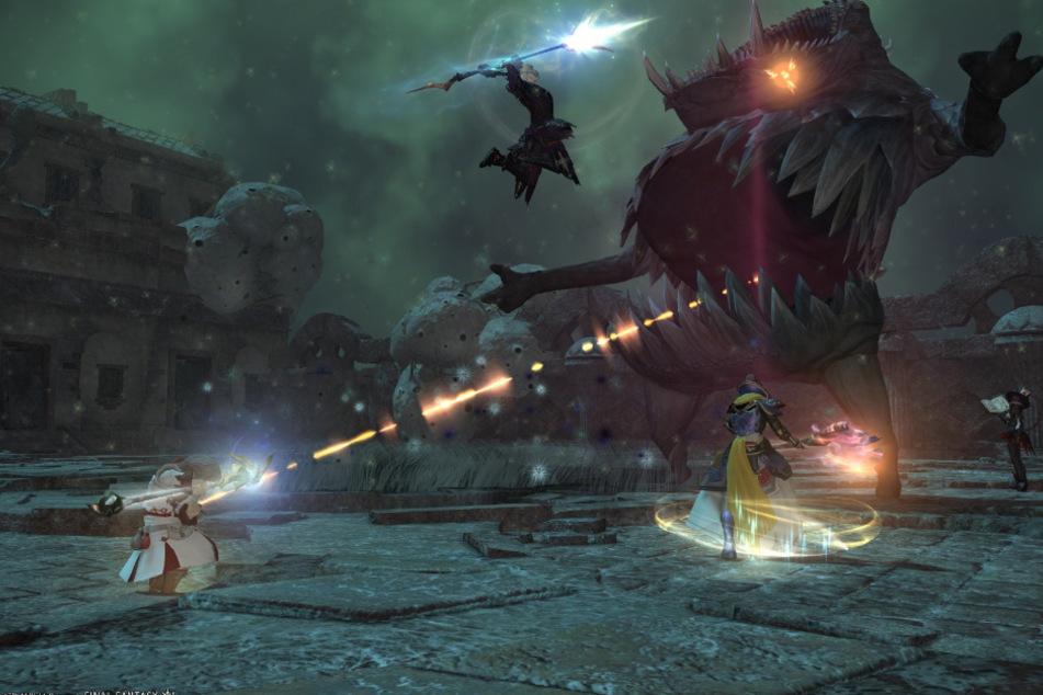 """Den Anreiz des MMORPGs festzumachen ist dabei nahezu unmöglich, denn """"Final Fantasy XIV"""" bietet seinen Spielern unzählige Möglichkeiten, die Welt zu erleben."""