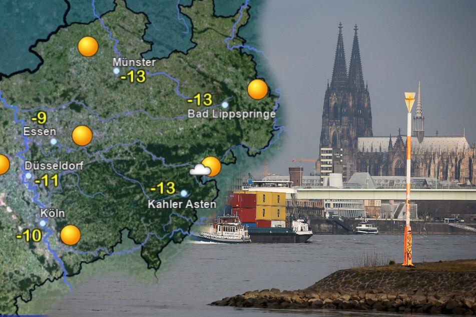 Wie lange hält der Frost in NRW noch an?