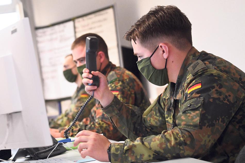 Dresden: Corona-Zahlen in Dresden steigen wieder: Bundeswehr kehrt zur Unterstützung zurück