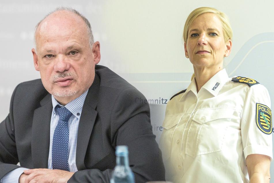 Munitionsaffäre: Minister schmeißt LKA-Chef raus, Chemnitzer Polizeichefin übernimmt