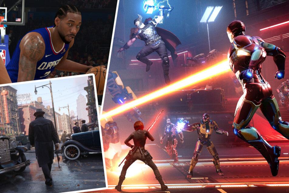 """""""Marvel's Avengers"""", """"NBA"""", """"Mafia"""": Diese Games erwarten euch im September"""