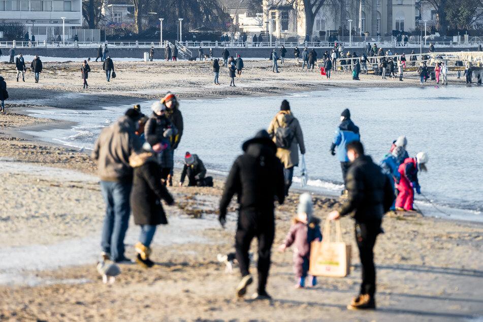 Besucheransturm: Ostseebad hebt Betretungsverbot für Touristen frühzeitig auf