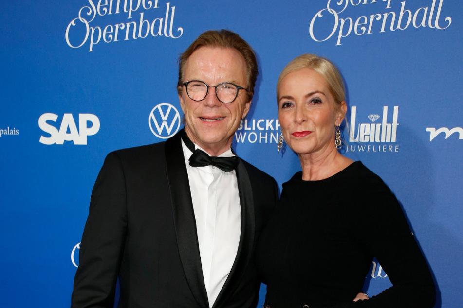 Wolfgang Lippert und seine Frau Gesine waren am Freitag zu Gast im MDR-Riverboat und haben dabei über das Geheimnis ihrer glücklichen Ehe gesprochen.