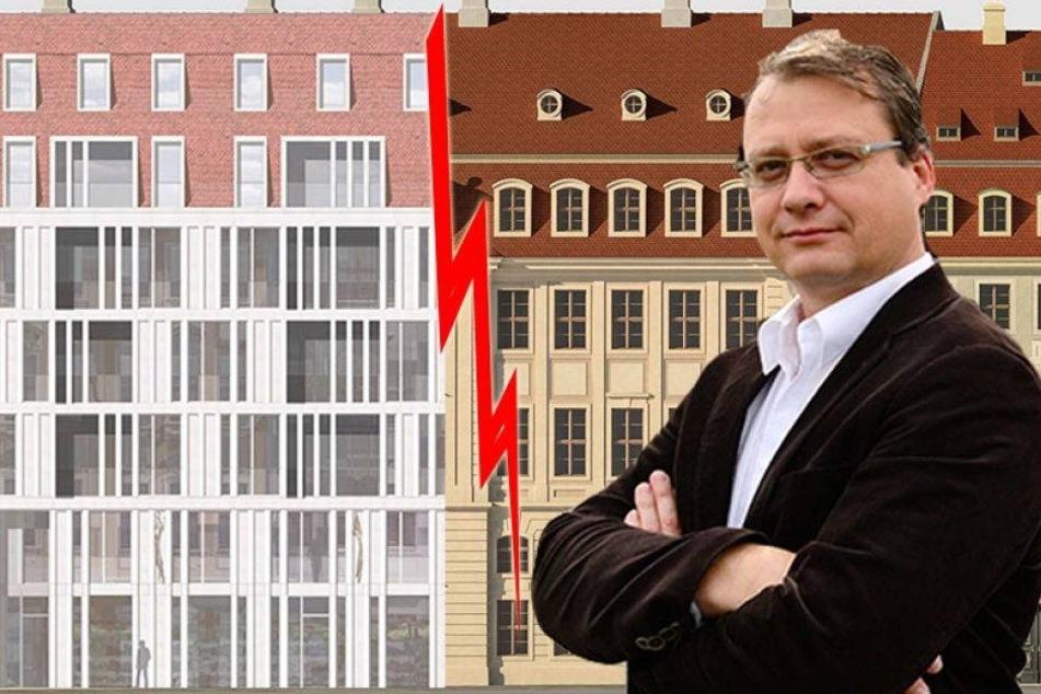 Nach Fassaden-Schock! Gesellschaft kämpft weiter für Barock-Palais