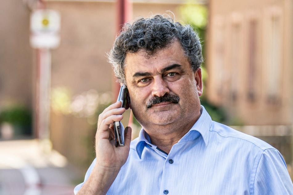 Bei Amtsbergs Bürgermeister Sylvio Krause sind schon zahlreiche Hilfsangebote eingegangen.