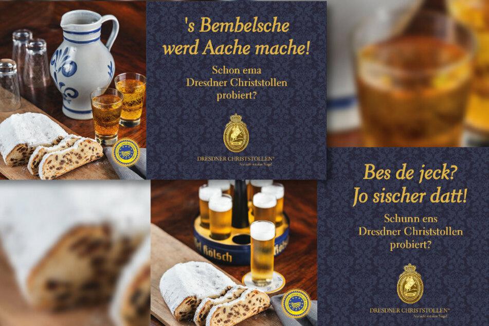 Neue Werbekampagne: Schmeckt der Dresdner Christstollen auch den Wessis?