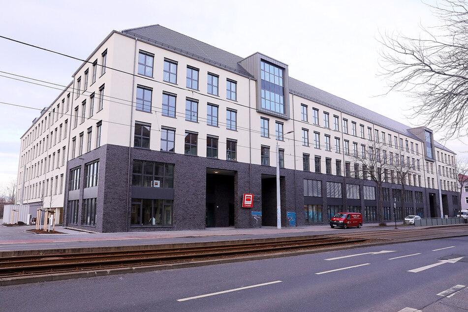 Das Gebäude auf der Großenhainer Straße ist so gut wie bezugsfertig.