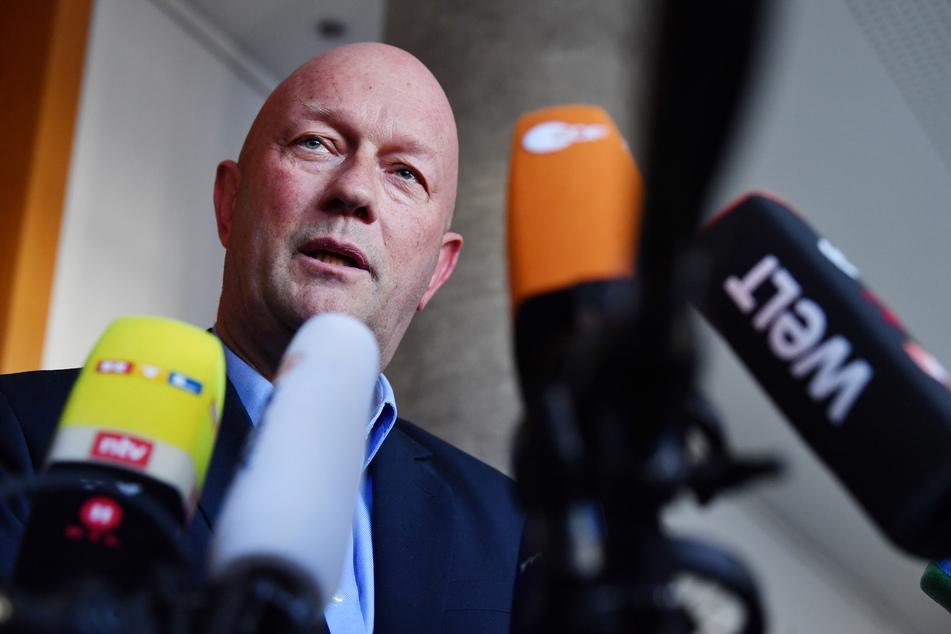Thomas Kemmerich ist noch geschäftsführender Ministerpräsident.