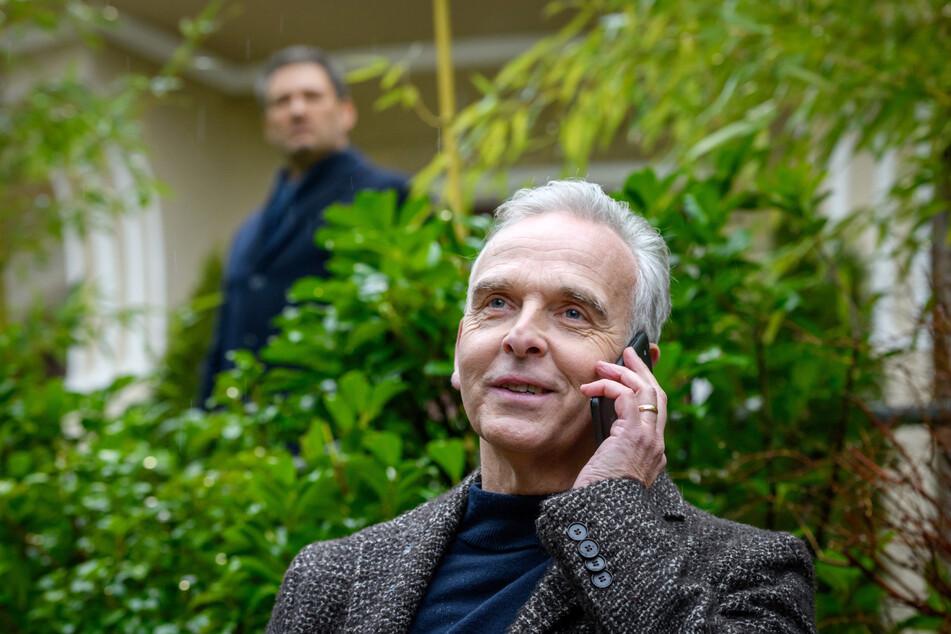 """""""Sturm der Liebe"""": Christoph (l.) kommt Dr. Kammls Intrigen auf die Spur."""
