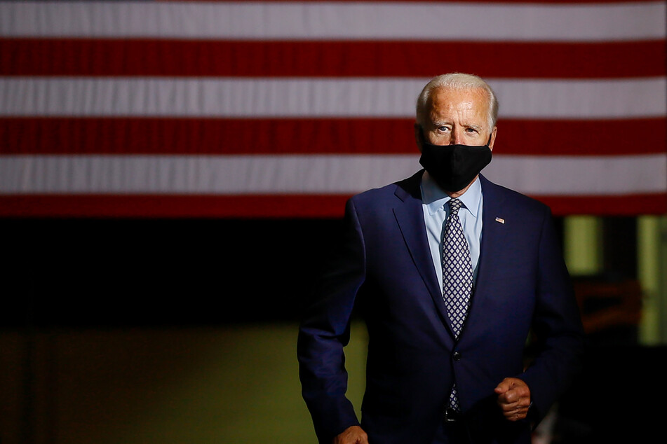 Joe Biden, der demokratische Präsidentschaftskandidat und ehemalige US-Vizepräsident.