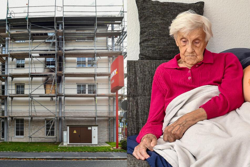 Mit 98 Jahren durch Feuer alles verloren: Kann Oma Herta zurück in ihre Wohnung?