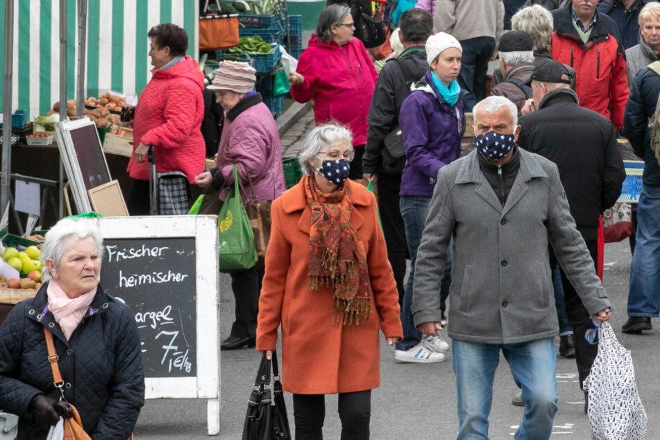 Schon in dieser Woche: Mundschutzpflicht auf dem Lingnermarkt!