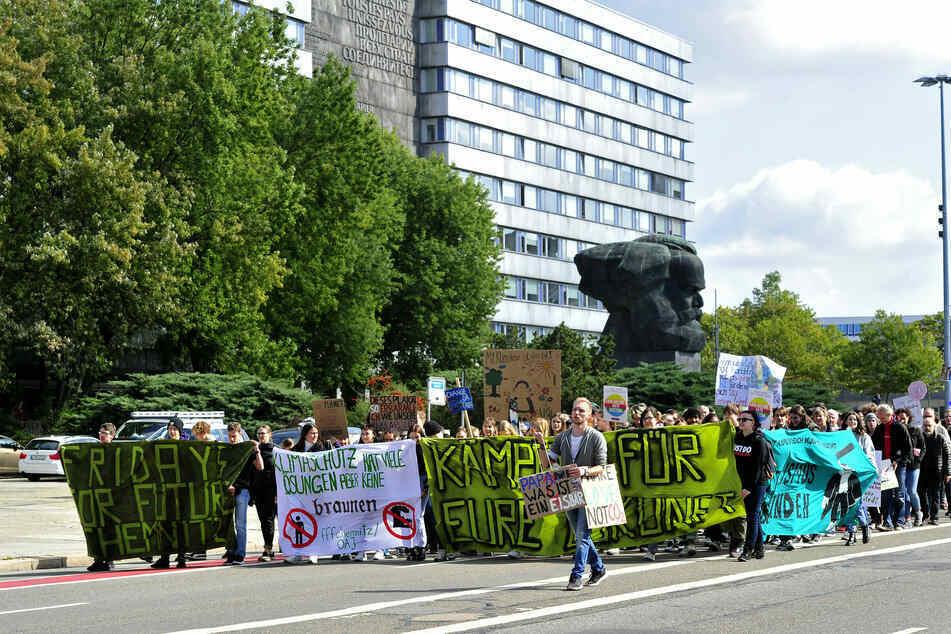 """Am Freitag gehen die """"Fridays for Future""""-Anhänger in Chemnitz wieder auf die Straße."""