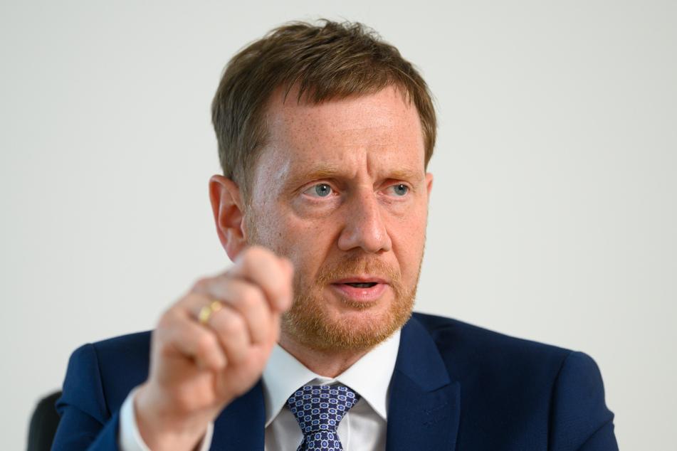 Ministerpräsident Michael Kretschmer (46, CDU).