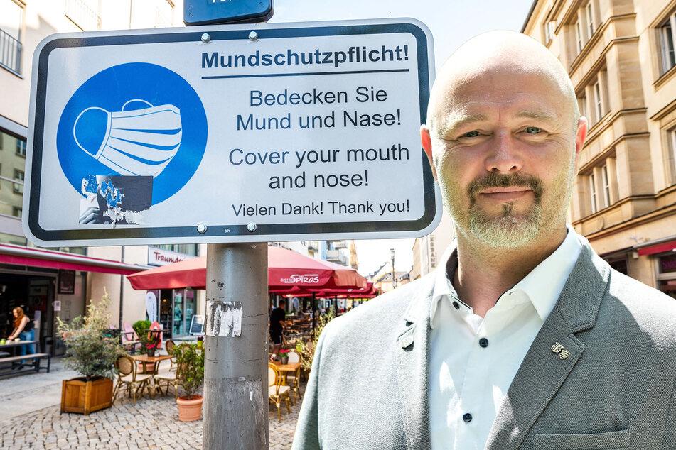 Trotz Öffnungswelle: Maskenpflicht in Chemnitz bleibt