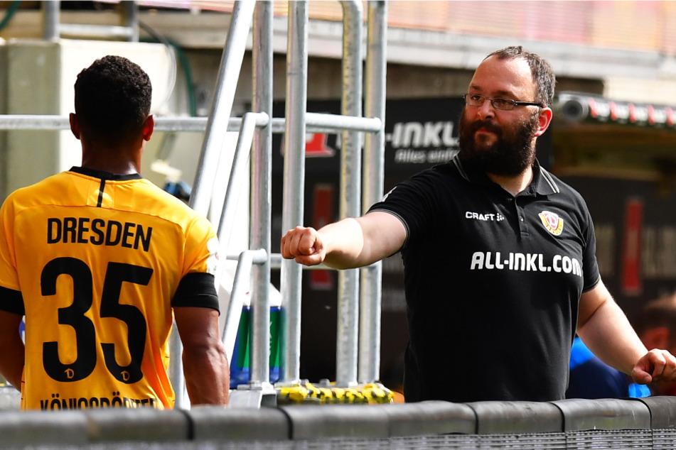 Martin Börner (r.) verlässt Dynamo Dresden nach 13 Jahren auf eigenen Wunsch.