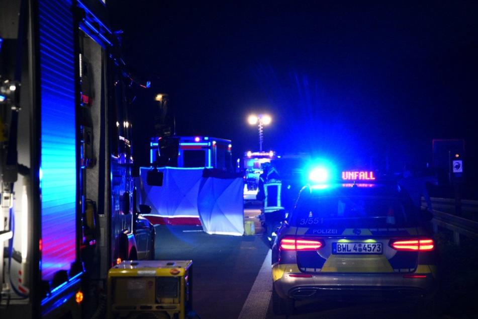 Junger Motorradfahrer stirbt nach schlimmem Unfall auf der A6