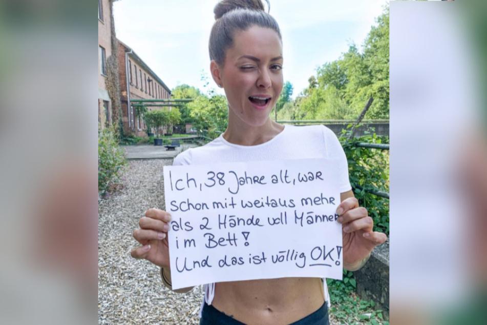 Die 38-Jährige redet Klartext mit ihren Fans.