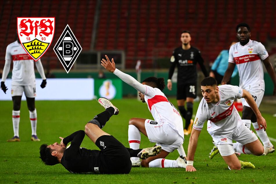 Aus der VfB-Traum! Stuttgart scheitert im DFB-Pokal an Gladbach