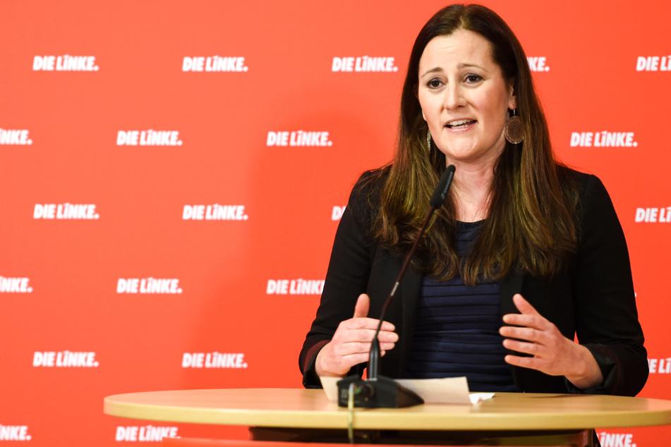 """Linken-Chefin fordert """"konsequenten und solidarischen Lockdown"""""""