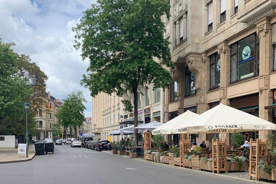Um Leipzigs Gastronomen in dieser schwierigen Zeit zu helfen, sollen die Freisitze in der Gottschedstraße vergrößert werden.