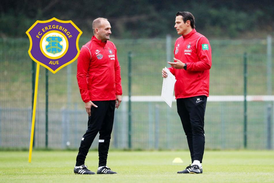 So tickt das neue Trainer-Gespann: Wie sich Müller und Hensel in Aue die Aufgaben teilen