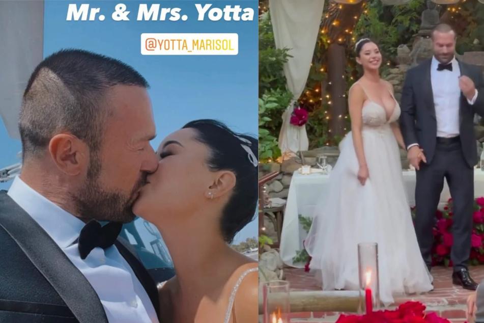 Bastian Yotta und seine Marisol gaben sich das Ja-Wort.