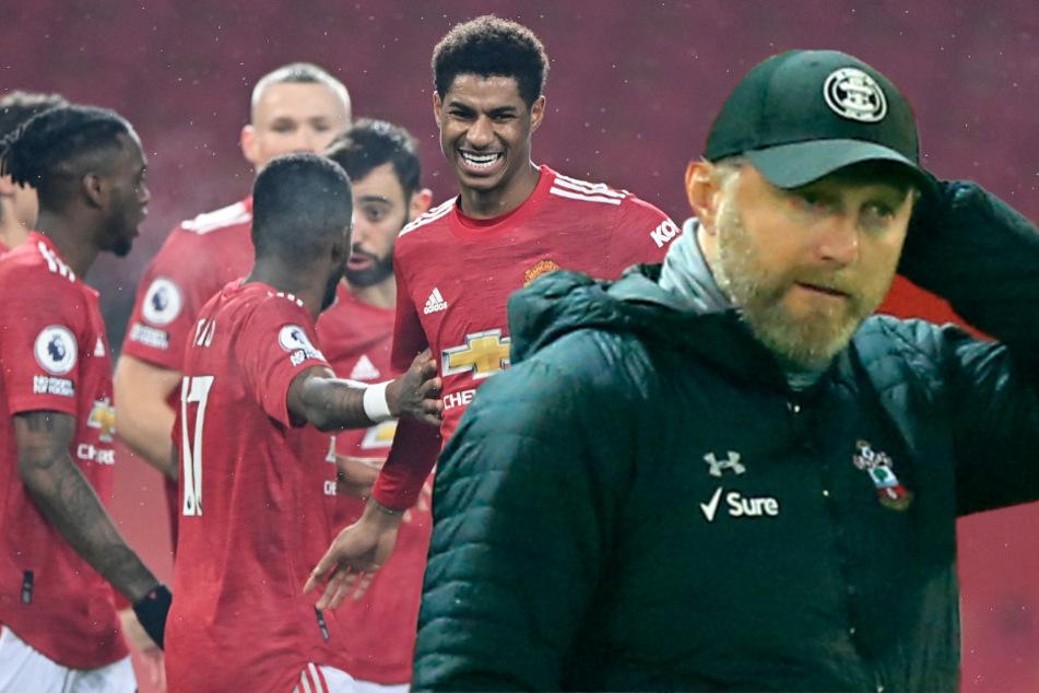 0:9-Desaster für Hasenhüttl: ManUnited zerlegt Ex-RB-Leipzig-Coach historisch!