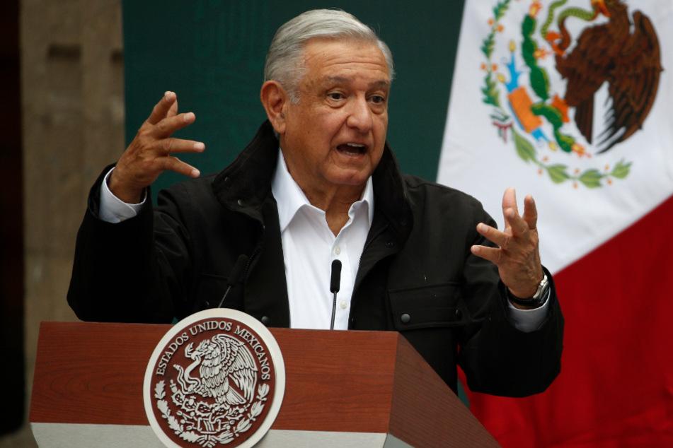 Andres Manuel Lopez Obrador, Präsident von Mexiko.