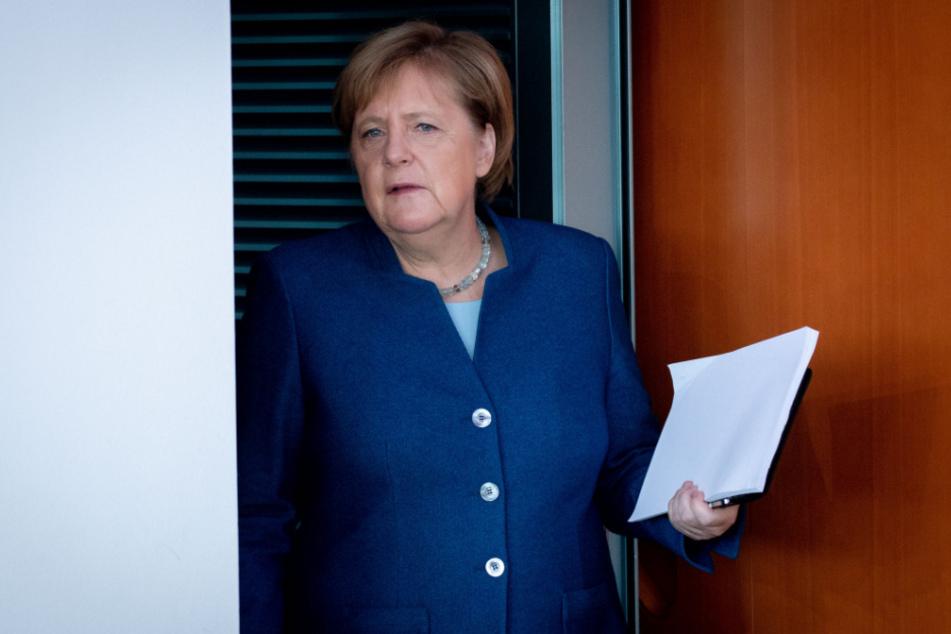 Bundeskanzlerin Angela Merkel berät mit den Ministerpräsidenten über die Lockerung der Corona-Regeln.