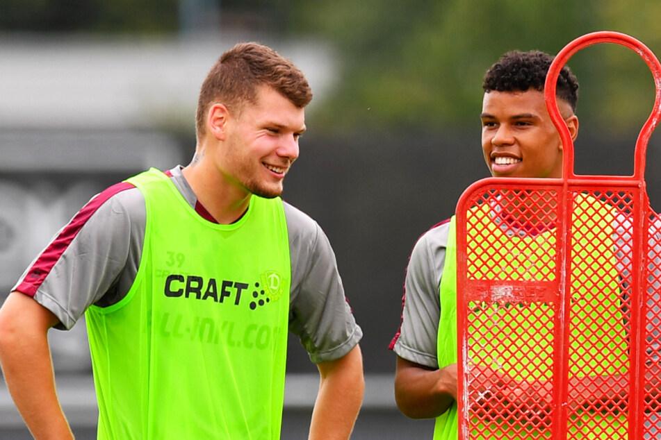 Kevin Ehlers (l.) und Ransford Königsdörffer haben sich in den Fokus des DFB gespielt.