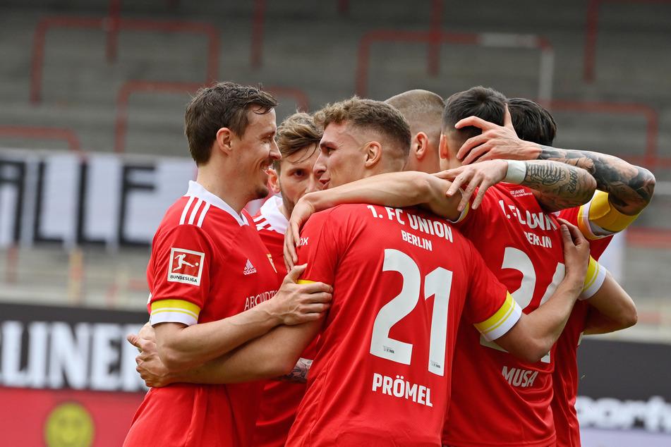 Endlich wieder mit den Jungs vom 1. FC Union Berlin jubeln: So lautet das kurzfristige Ziel von Grischa Prömel (26).