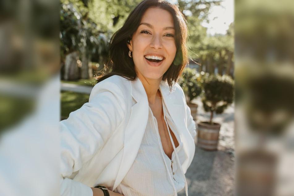 Model und Fernsehmoderatorin Rebecca Mir (29) wurde als GNTM-Kandidatin zu einer Person des öffentlichen Lebens.