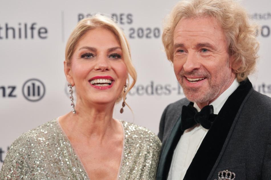 Thomas Gottschalk (70) nebst Lebensgefährtin Karina Mroß (59).