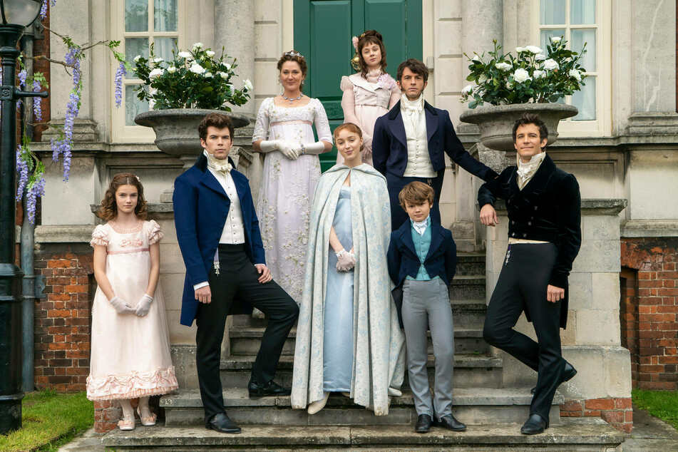 The Regency-era drama hit around the Bridgerton family (pictured) has been renewed for a third and fourth season.