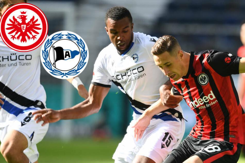 Start misslungen! Eintracht Frankfurt kann Arminia Bielefeld nicht besiegen