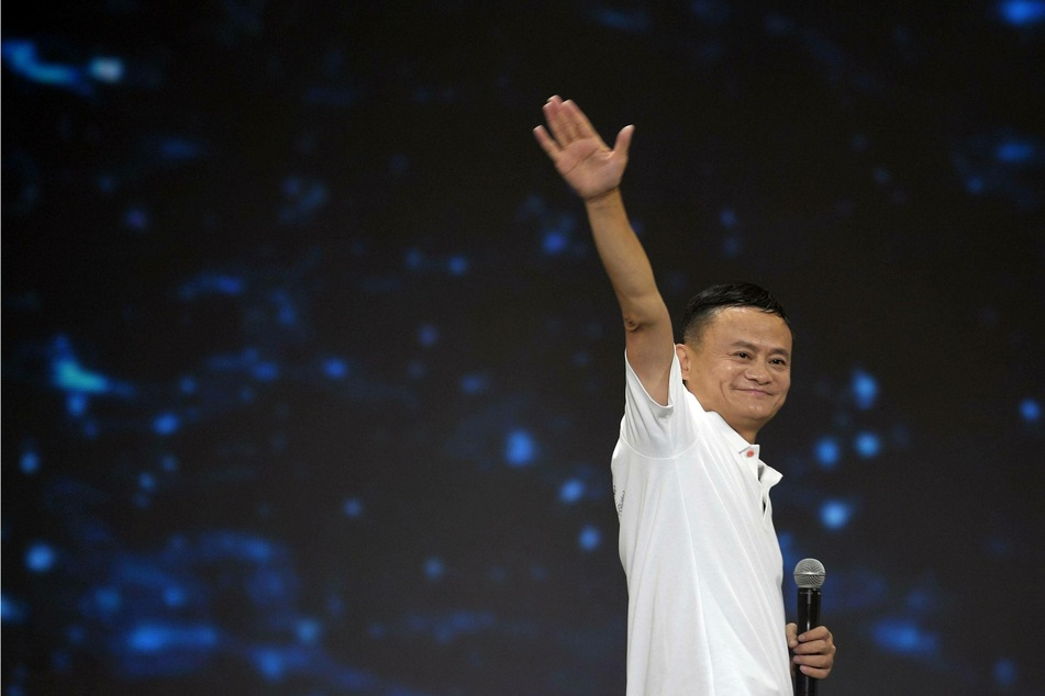 Jack Ma appears publicly for first time since October in video speech