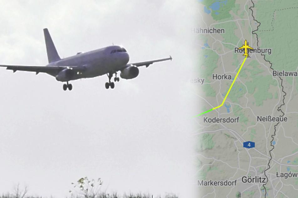 Passagier-Maschine landet auf Mini-Flugplatz in Sachsen: Das hat es damit auf sich!