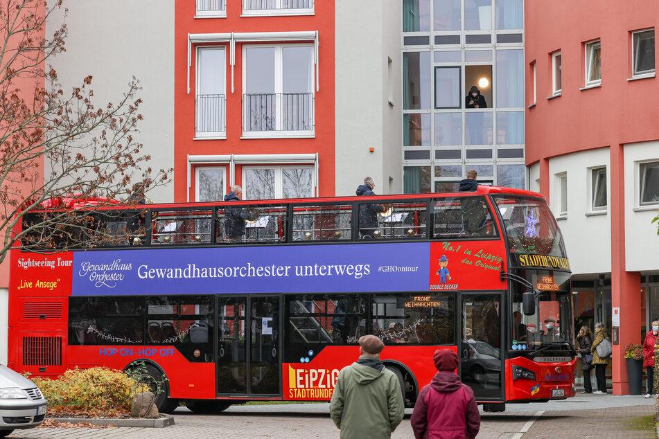 Der Musik-Bus soll verschiedene Plätze der Stadt, sowie Sozial- und Pflegeeinrichtungen ansteuern.