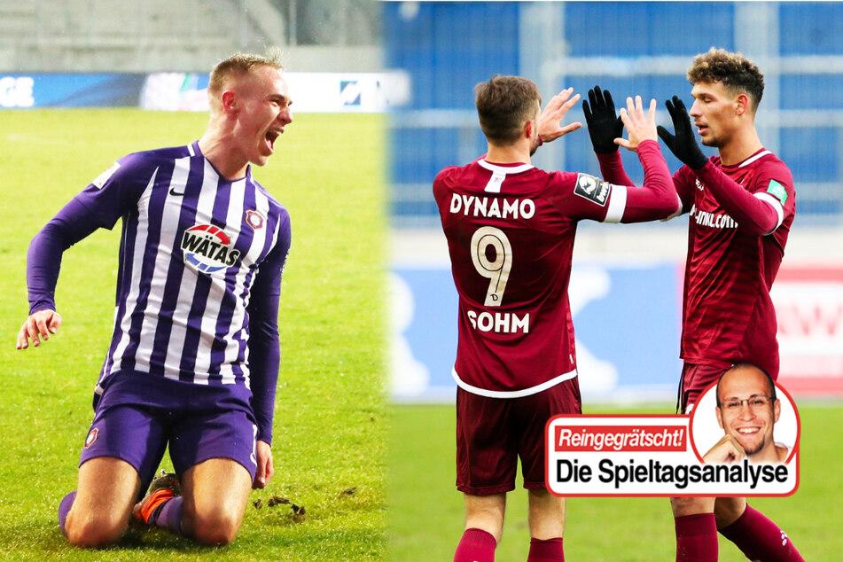 Dynamo und Aue kampfstark, Rostock obenauf, Schalke und Magdeburg am Boden!