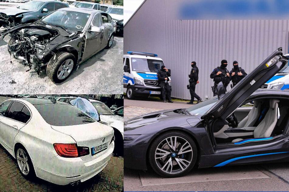 Der irre Betrug mit den US-Schlitten: Riesen-Razzia gegen die Automafia in Dresden