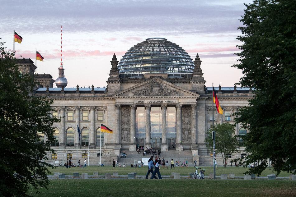Politik in Deutschland: der deutsche Bundestag in Berlin