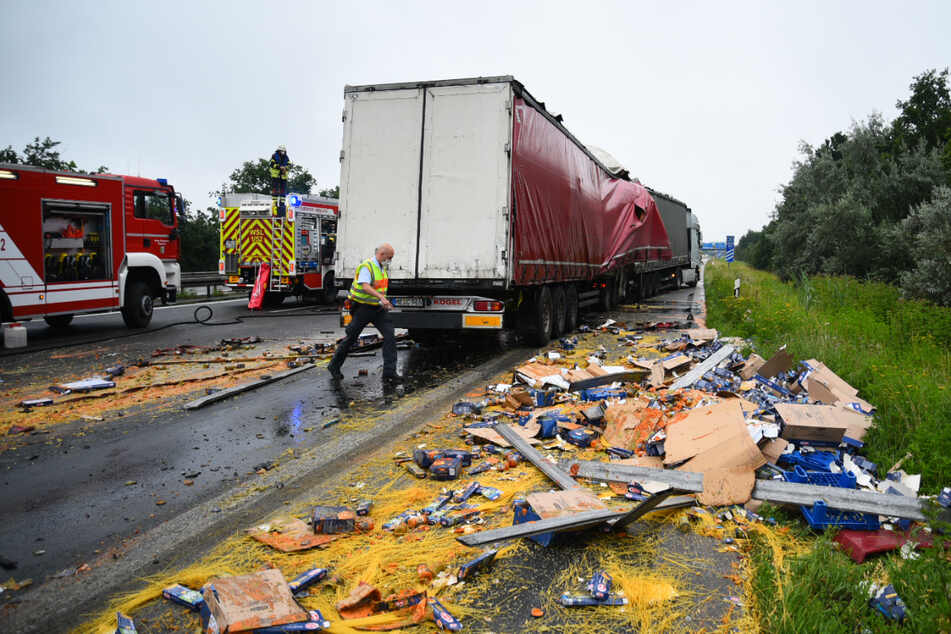 Unfall A6: A6 nach tödlichem Lkw-Unfall Richtung Mannheim voll gesperrt