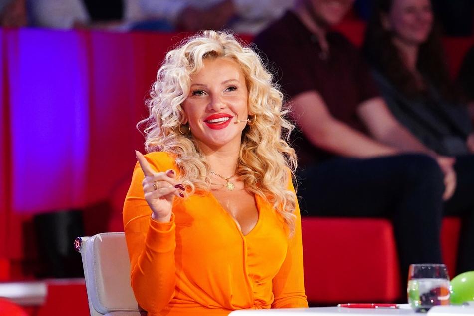 """Jurorin Evelyn Burdecki (32) sorgt in der siebten """"Supertalent""""-Folge mit ihrer Twerk-Performance für jede Menge Begeisterung."""