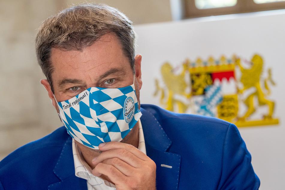 Markus Söder (CSU), Ministerpräsident von Bayern. (Archivbild)