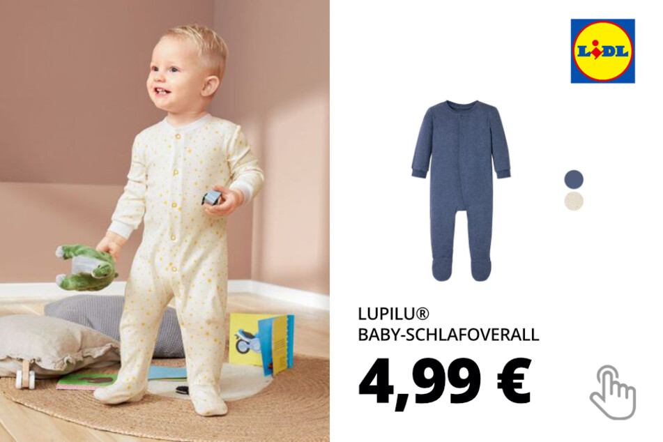 LUPILU® Baby-Schlafoverall