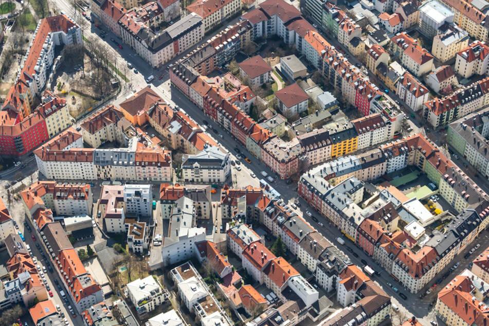 Blick auf München: Kleine Wohnungen sind auch hier in Coronazeiten nicht beliebt und werden öfter gekündigt.