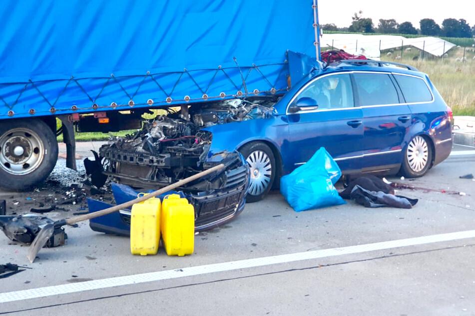 Unfall A24 Gestern