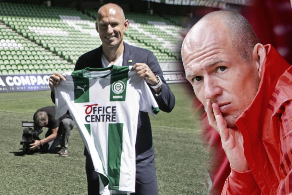 """Robben-Hammer: """"Mr. Wembley"""" vom Training ausgeschlossen"""