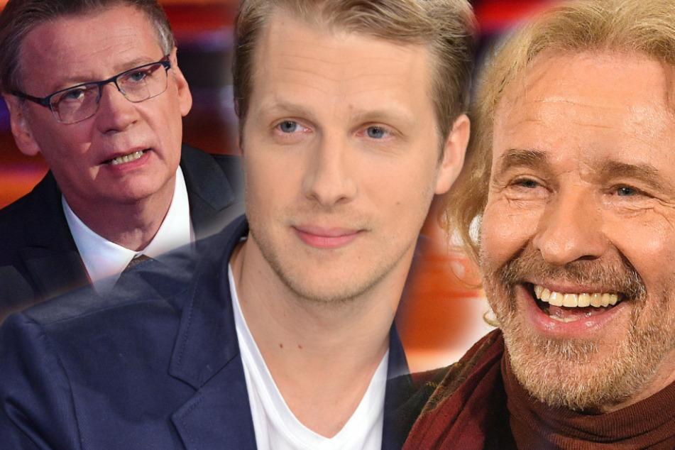 """Oliver Pocher, Günther Jauch und Thomas Gottschalk in """"Quarantäne-WG"""""""